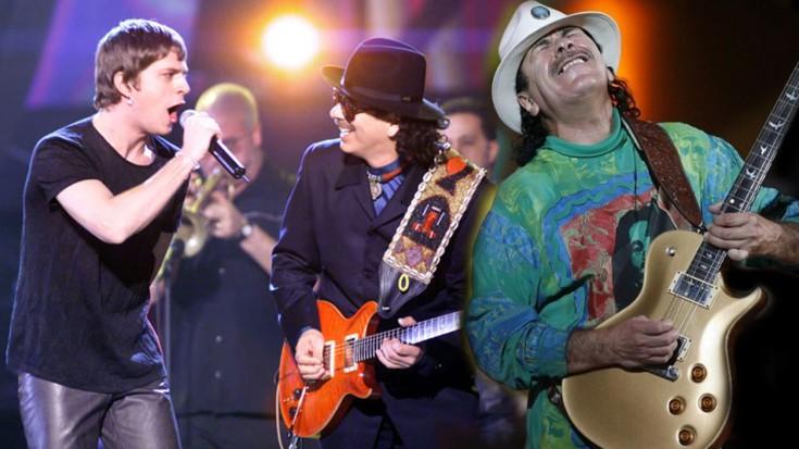 """""""Move"""" es el single en estreno mundial presentado por Carlos Santana y Rob Thomas"""