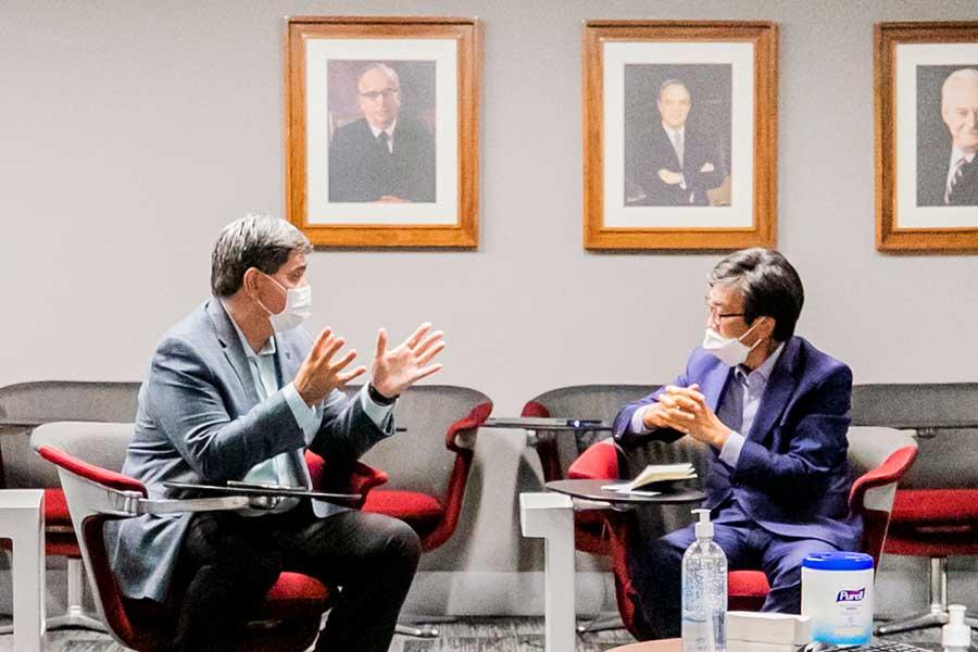La República de Corea realizará algunos proyectos de innovación y tecnología educativa en México.